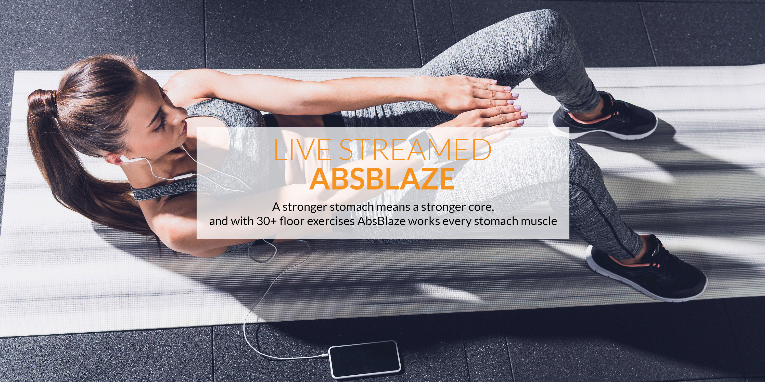 The best AbsBlaze - Online Abs Class live-streamed