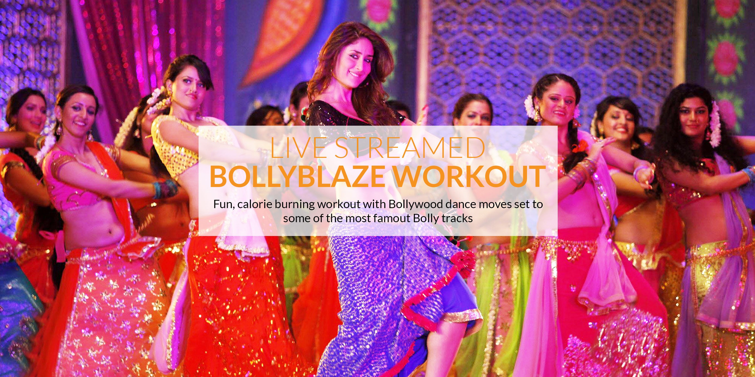 The best BollyBlaze workout live-streamed
