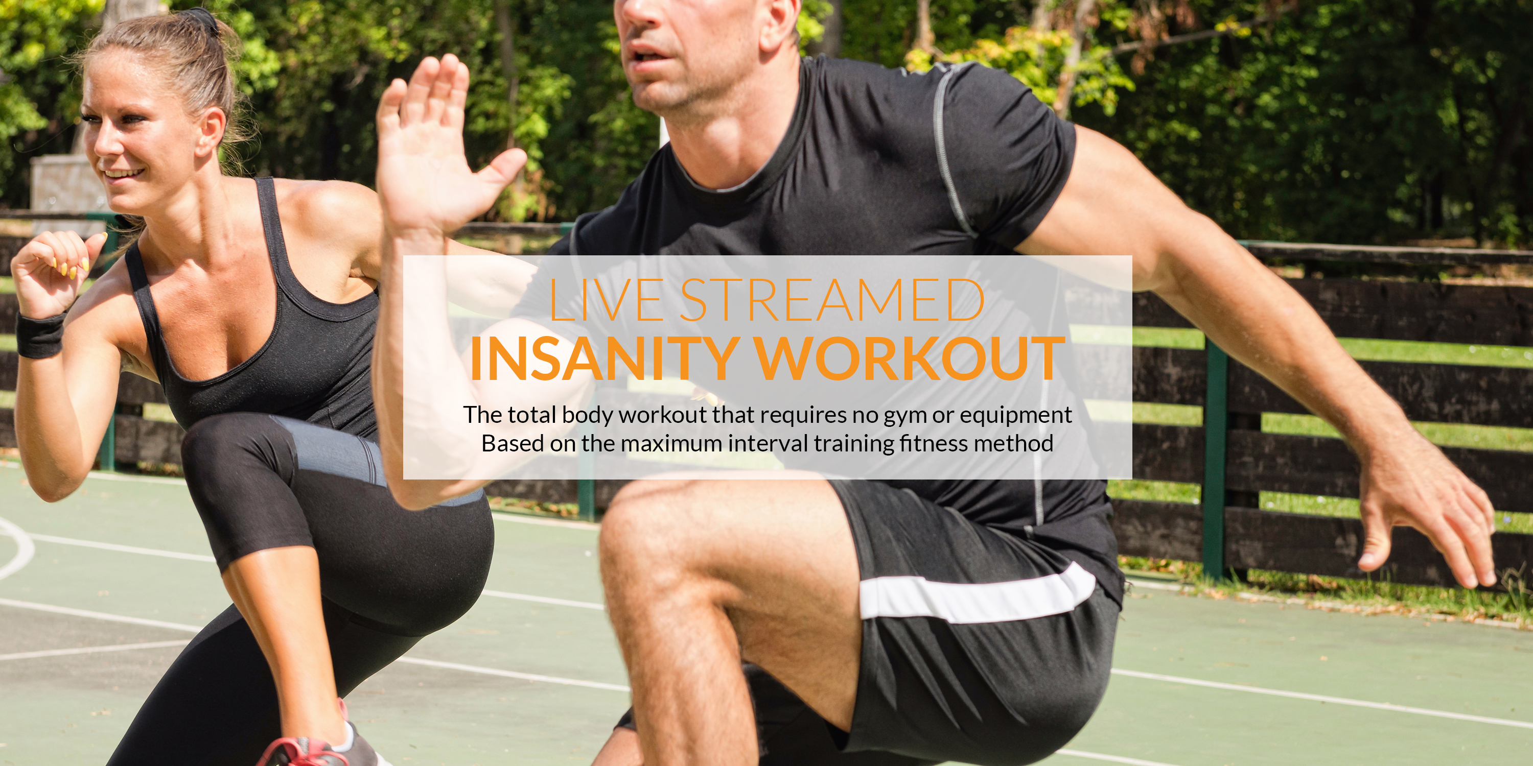 The best Insanity Workout live-streamed