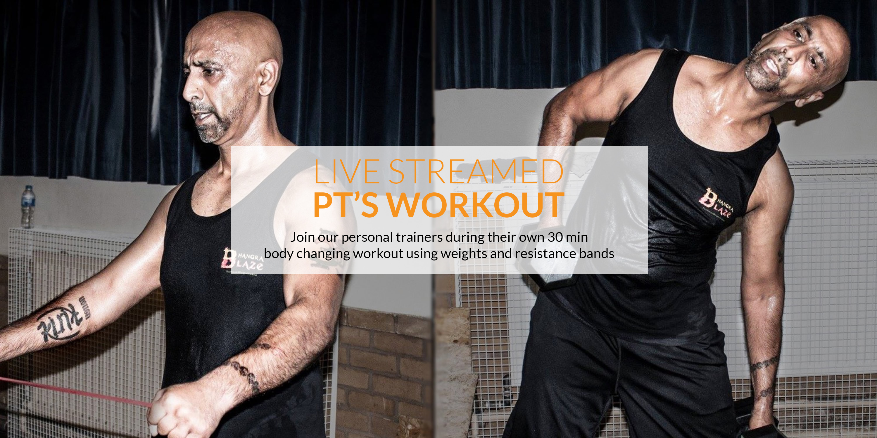 The best Personal Training Online Workout live-streamed