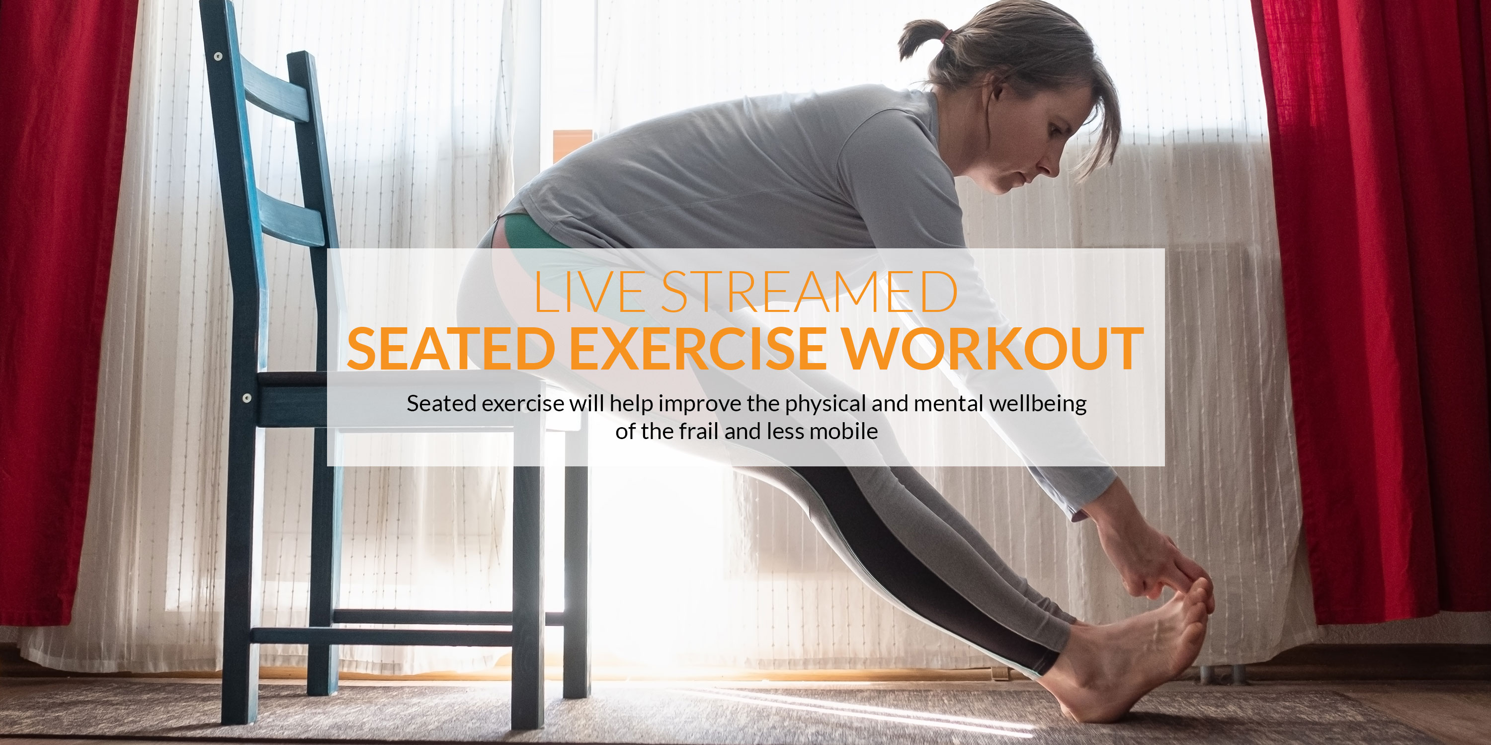 The best Seated Dance and Yoga live-streamed