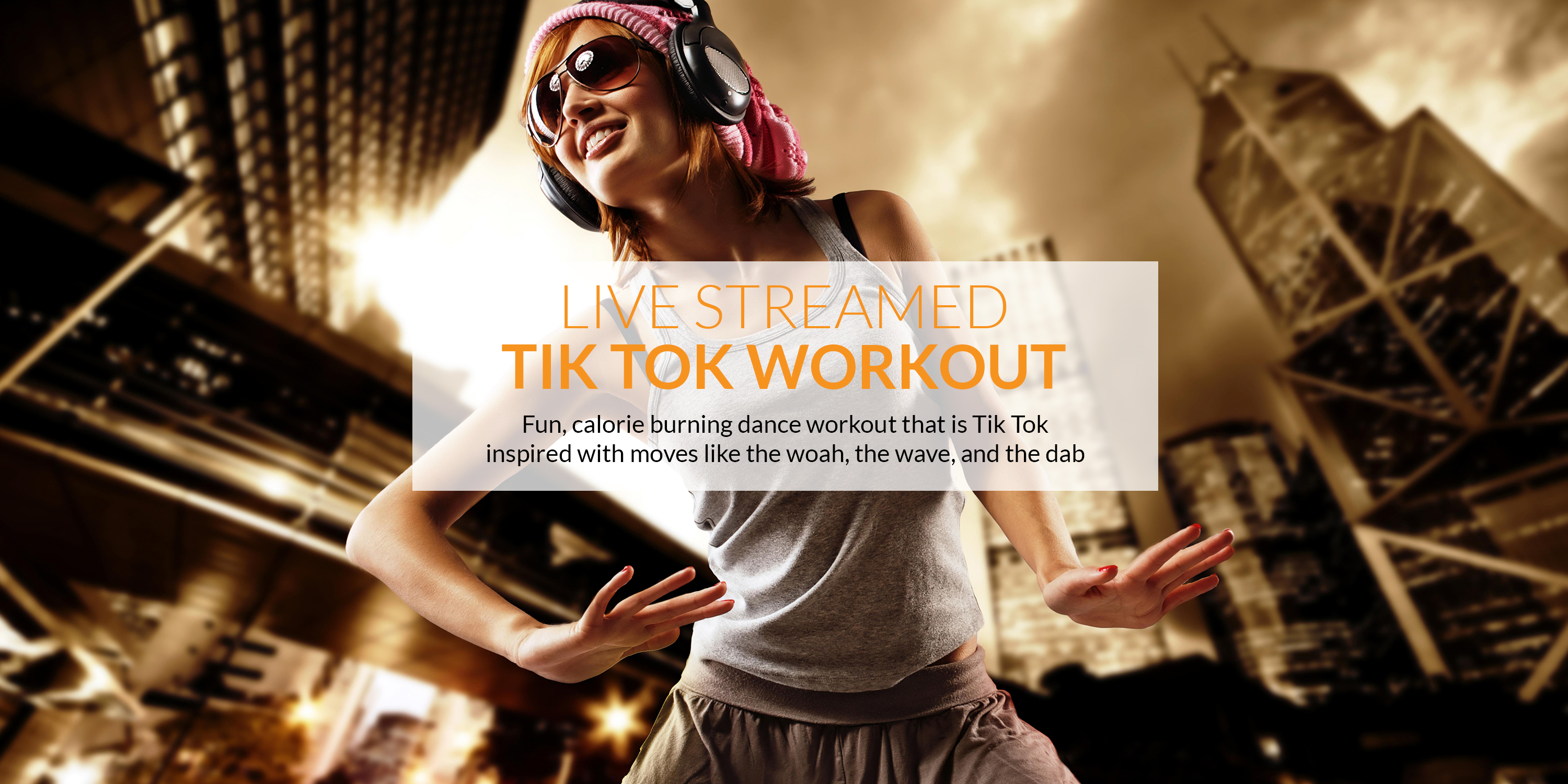 The best Tik Tok Workout live-streamed