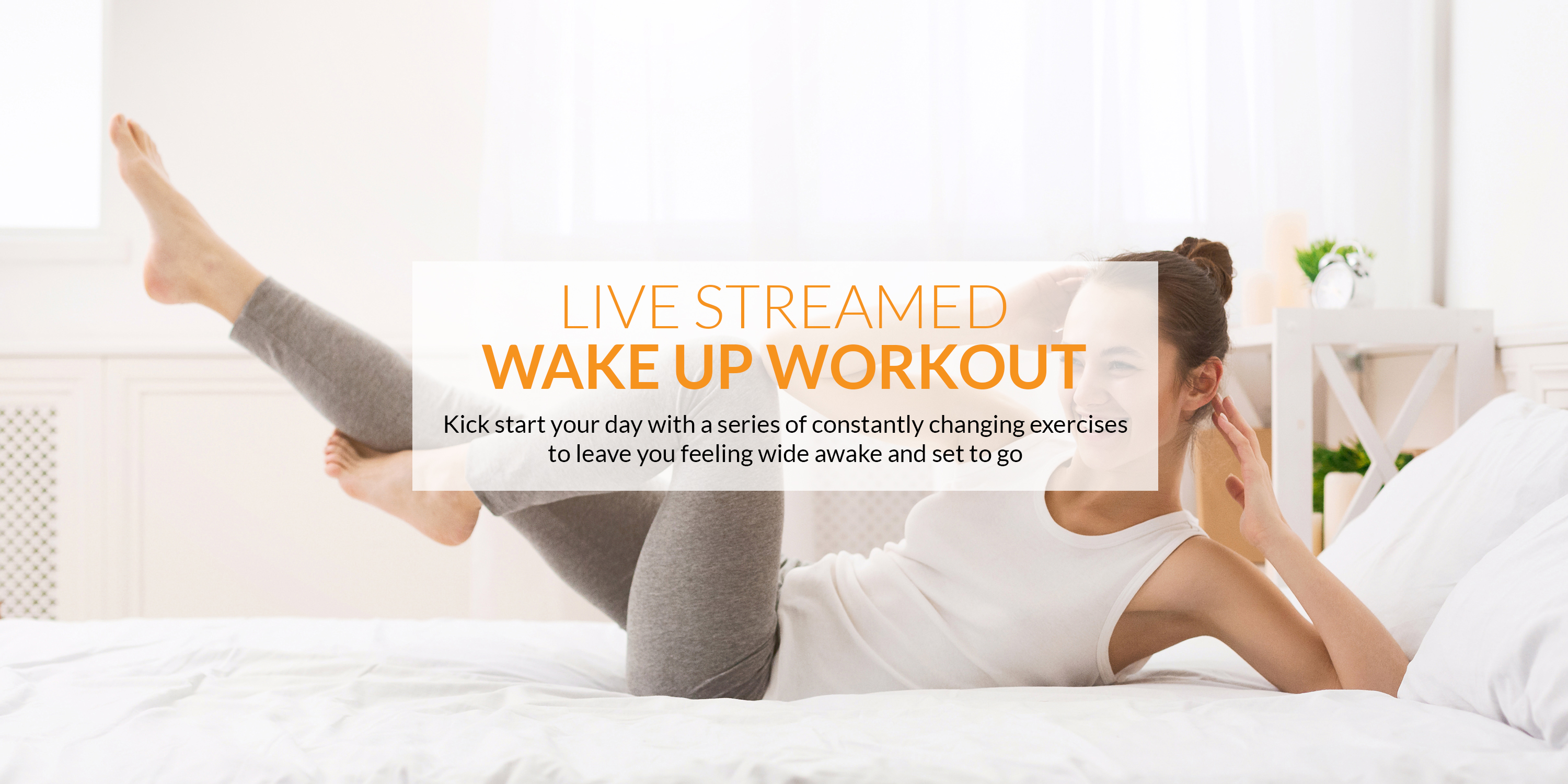 The best Wake Up Workout live-streamed